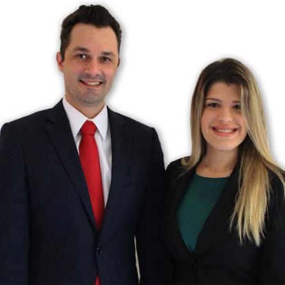 Rickson Amorim  e Bianca Oliveira