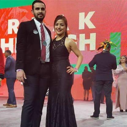 Jo-Anne Lipa  & Juan Aguilar