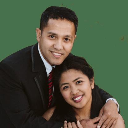LegacyShield agent Hanzel and Joyce Benito