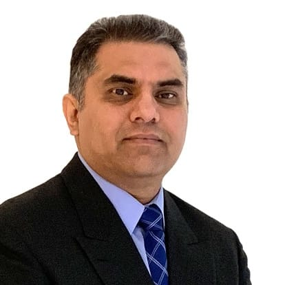 Image of LegacyShield agent Wajid Ahmed