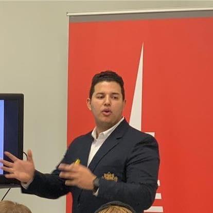 LegacyShield agent Alexander Navarro