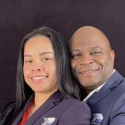 LegacyShield agent Tatiana and Samuel Robinson