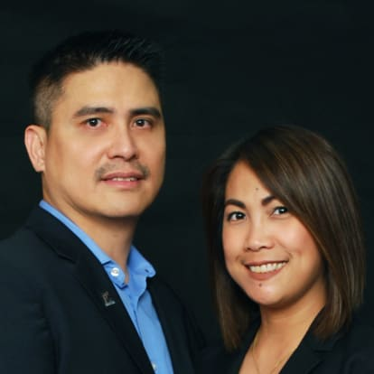 LegacyShield agent Mark and Korinna Banzon