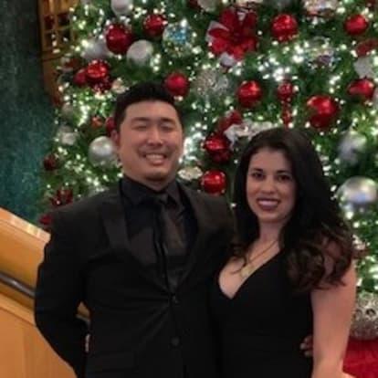 LegacyShield agent Jonathan Kim and  Jessica Castilla