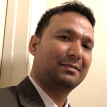 LegacyShield agent Shambar Thapa