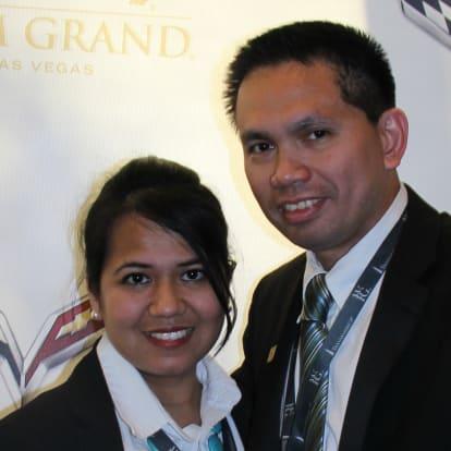 LegacyShield agent Reginald Valencia and Karen Abalos