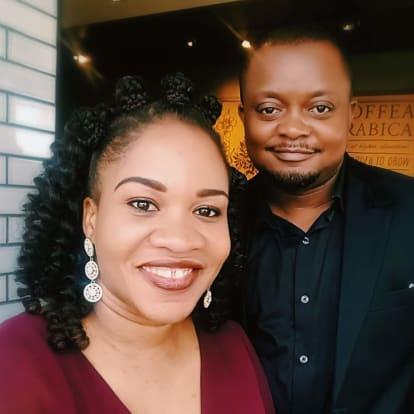 LegacyShield agent Kingsley & Anie T. Asukwo