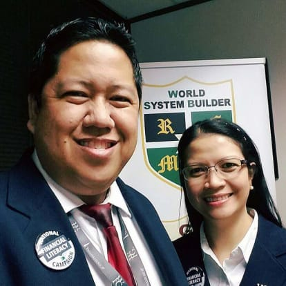 LegacyShield agent Vince and Myla  Villaflor
