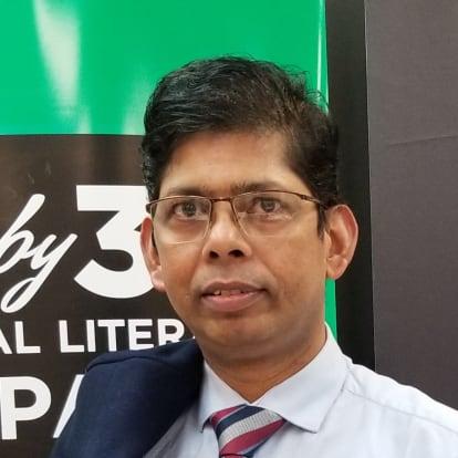 LegacyShield agent Kamal Saha